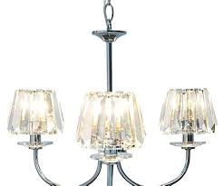 image of replacement glass chandelier shades pendant uk clear