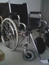 Vendo silla de ruedas usada