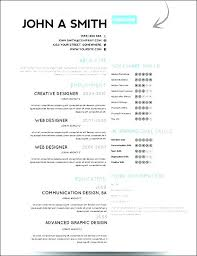 Best One Page Modern Resume Best One Page Resume Unitus Info