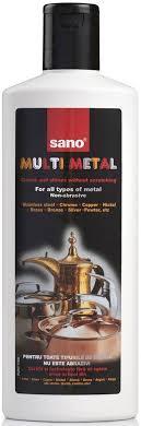 Купить <b>SANO Multi Metal</b> Cleaner Чистящее <b>средство</b> для любых ...