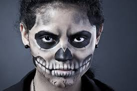 scariest face paint for kids