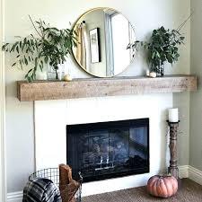 fireplace mantels ideas wood fireplace mantels ideas wood simple fireplace mantel with round mirror rustic wood