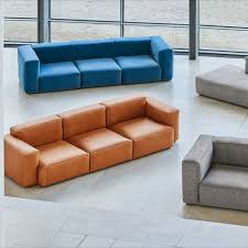 grey 3 seater sofa mags soft 3 hay