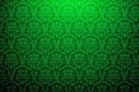 Vintage Green Damask Background - PhotoHDX