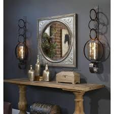 image of wall ideas black metal wall candle sconces uttermost