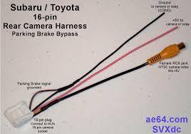 subaru 16 pin rear camera harness Toyota FJ Trailer Wiring Harness Toyota Wire Harness Connectors And Pins #27