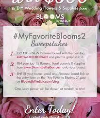myfavoriteblooms2 wedding flowers sweepstakes