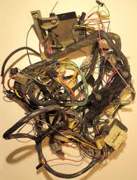 1963 cadillac wiring harness under the dashboard