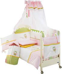 <b>Комплект</b> в кроватку <b>Italbaby</b> Tulipano из 5 предметов розовый ...