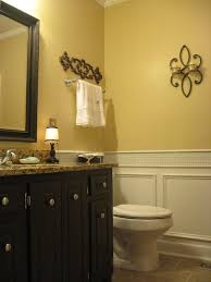 bathroom colors yellow. Guest Bathroom Reveal {Vintage Inspired} Colors Yellow O