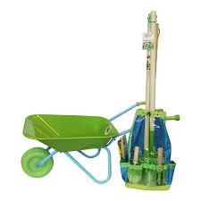 childrens garden tools set. Childrens Gardening Tool Set With Wheelbarrow Garden Tools O
