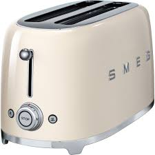 Retro Kitchen Small Appliances Smeg Retro Four Slice Toaster