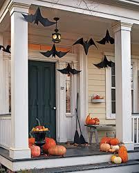 A batty front porch - Halloween chic by Martha Stewart