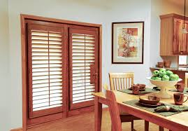 wooden shutters for french doors l20 in spectacular home interior ideas with wooden shutters for french