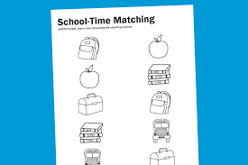 Related Images with Printable Worksheets For Kindergarten First Day Of  School