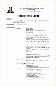 10 Cv Format For Job Application Hrm Besttemplates Besttemplates