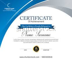 Sample Certificates Templates 50 Certificate Template Vectors Download Free Vector Art