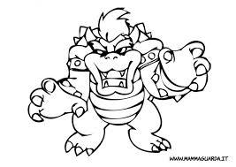 Super Mario Personaggi Da Colorare Migliori Pagine Da Colorare