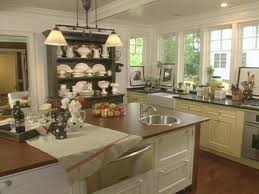 Living Kitchen Todays Country Kitchens Hgtv