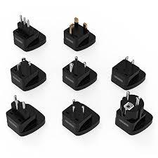 <b>NTONPOWER</b> 8-Piece Worldwide <b>Travel Adapter Universal</b> Plug ...