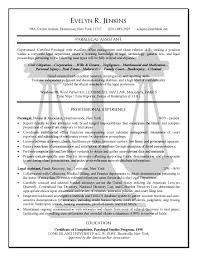 Legal Resume Objective Stunning Paralegal Resume Example