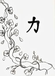 Small Picture Cherry Blossom Line Drawing Branding Pinterest Cherry