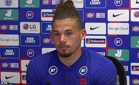 He has a dreadlock hairstyle. England Midfielder Kalvin Phillips Vows Not To Lose His Discipline At Euro 2020 Daily Mail Online