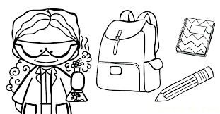 coloring pages for back to school on welcome back school coloring pages
