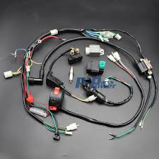 50cc 70cc 90cc 110cc 125cc cdi coil wire harness assembly wiring set 50cc 70cc 90cc 110cc 125cc cdi coil wire harness assembly wiring set chinese atv electric quad