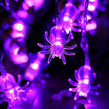 halloween lighting tips. Credit: Http://best-4-christmas.com/icicle-spider-halloween -string-lights-2-pack-battery-powered-20-led-9-51ft-halloween -decoration-lights-purple/ Halloween Lighting Tips