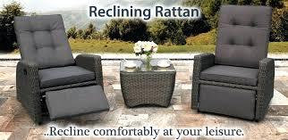 wonderful home furniture design. Luxury Garden Recliner Chairs Elegant Reclining Rattan Furniture In Wonderful Home Interior Design Ideas With O