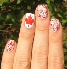 Canada Day Gel Nail Designs Canada Day Nails Super Cute Nails I Love Nails