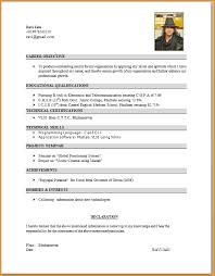 ... Resume format for pharmacy graduates - Carte Grise AutomaticCarte .