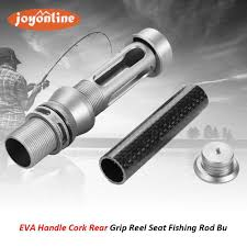 aluminum alloy rear grip reel seat fishing rod building repair diy kit