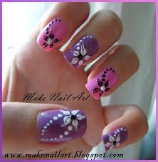 Easy Floral Nail Designs Nail Art Designs Easy And Beautiful Flower Nail Art