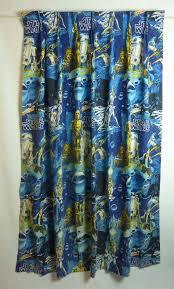 pair of star wars curtains vintage 1977 by inlovewiththepast 49 99