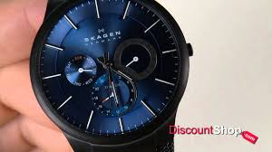 skagen titanium black blue multifunction 809xltbn review by skagen titanium black blue multifunction 809xltbn review by discountshop com