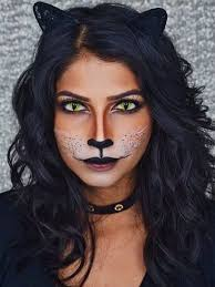 major inspo from this black cat makeup tutorial