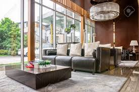 Image Ideas Luxury Hotel Lobby And Furniture With Modern Design Style Interior Stock Photo 41229409 123rfcom Luxury Hotel Lobby And Furniture With Modern Design Style Interior