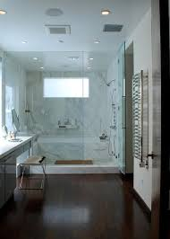 Modern Walk-in Shower And Tub Combo