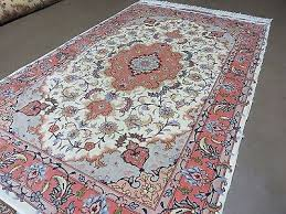 3 3 x 5 4 vintage hand made fine persian tabriz wool