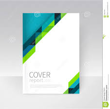 Annual Report Cover Template Brochure Flyer Poster Annual Report Cover Template Stock Vector 2