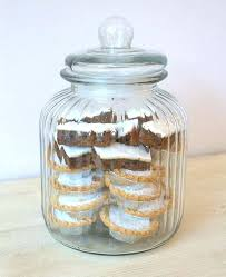 decorative glass containers large ridged glass biscuit jar decorative glass containers target