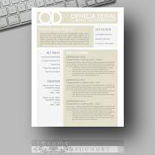 Eye Catching Resume Templates Impressive Unique Eyecatching Resume Template Professional And Creative For