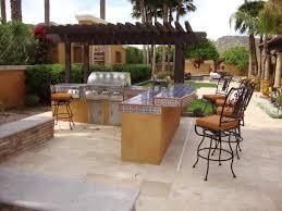 Complete Outdoor Kitchen Idyllic Exterior Backyard Home Design Ideas Presents Cool Modular