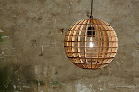 plywood lighting. plywood globe lamp lighting