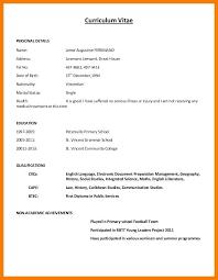 Resume Model Enchanting 28 Resume Model Word Format Malawi Research