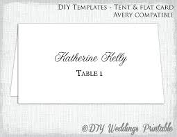 flat place cards name place cards template word download christmas card tent flat