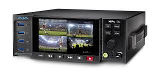 Blackmagic Design H 264 Pro Recorder Live Streaming Aja Ships Ki Pro Go Multi Channel H 264 Recorder Player