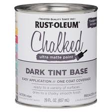 Rust Oleum Chalked Paint Tint Base